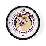 Mr. Friskett's Royal Flush Wall Clock