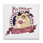 Mr. Friskett's Royal Flush Tile Coaster