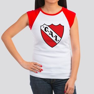 Escudo Independiente Women's Cap Sleeve T-Shirt