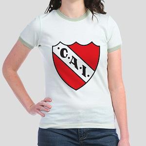 Escudo Independiente Jr. Ringer T-Shirt