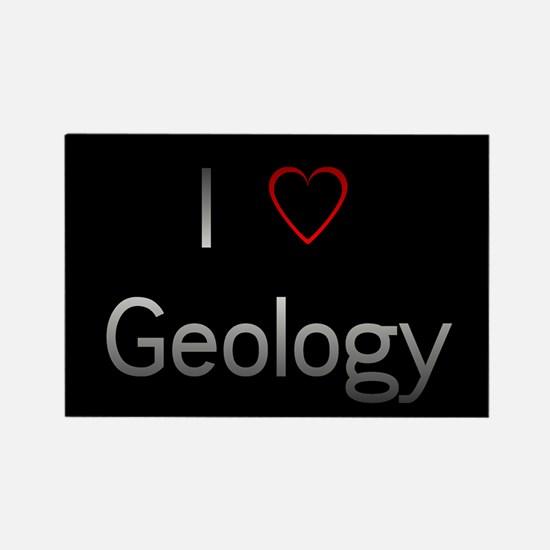 I Love (heart) Geology Magnets