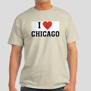 I Love Chicago Irish Light T-Shirt