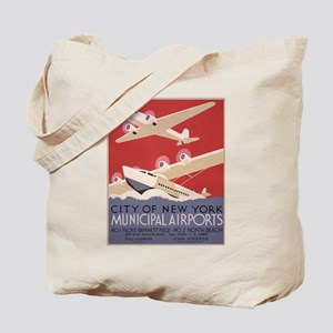 New York Airport Tote Bag