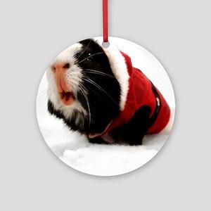 Guinea Santa Ornament (Round)