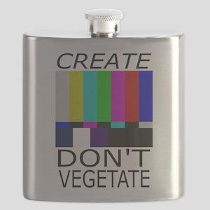 Create Don't Vegetate Flask