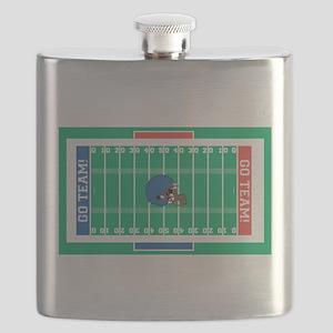 Football Field Flask