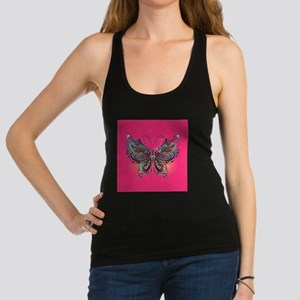 Colorful Butterfly Racerback Tank Top