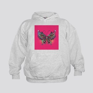 Colorful Butterfly Kids Hoodie