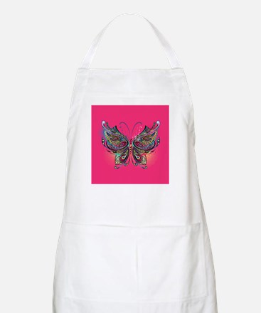 Colorful Butterfly Light Apron