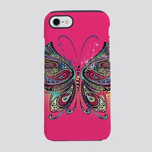 Colorful Butterfly iPhone 8/7 Tough Case