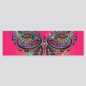 Colorful Butterfly Sticker (Bumper)