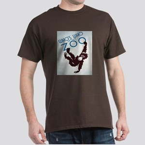 Chimp Monkeying Around Dark T-Shirt