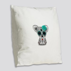 Teal Blue Day of the Dead Sugar Skull Baby Koala B