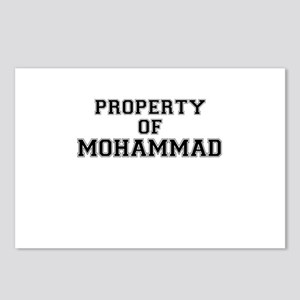 Property of MOHAMMAD Postcards (Package of 8)