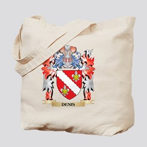 Denis Coat of Arms - Family Crest Tote Bag