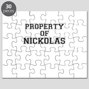 Property of NICKOLAS Puzzle