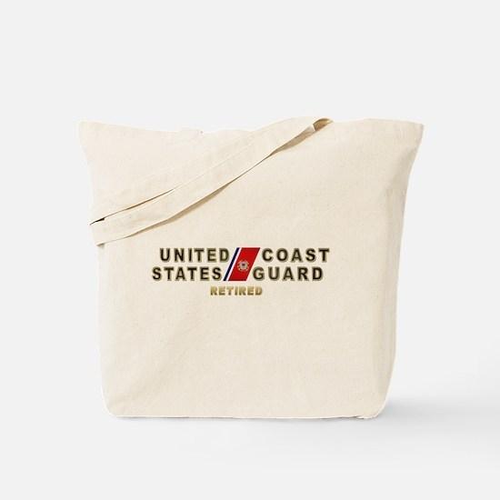 USCG Retired Tote Bag