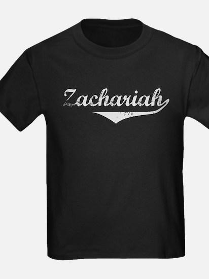 Zachariah Vintage (Silver) T