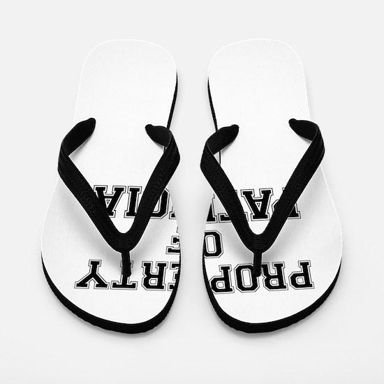 Property of PATRICIA Flip Flops