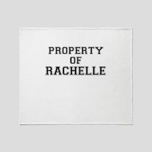 Property of RACHELLE Throw Blanket