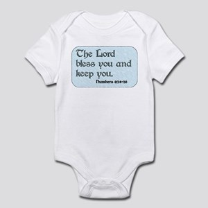 The Lord Bless You and Keep You Infant Bodysuit