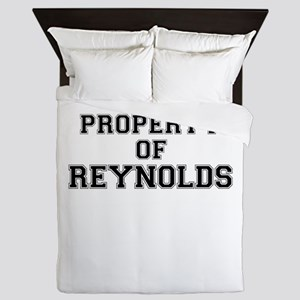 Property of REYNOLDS Queen Duvet