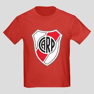 Escudo River Plate Kids Dark T-Shirt