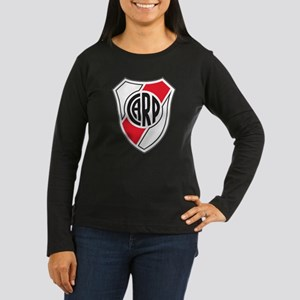 Escudo River Plate Women's Long Sleeve Dark T-Shir