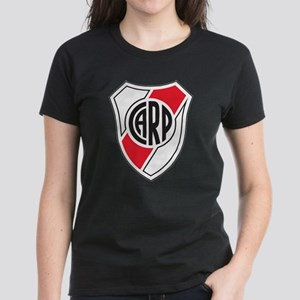 Escudo River Plate Women's Dark T-Shirt