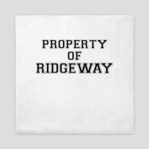 Property of RIDGEWAY Queen Duvet