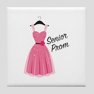 Senior Prom Tile Coaster