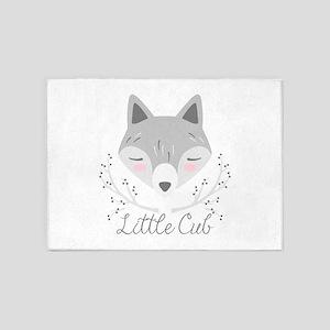 Little Cub 5'x7'Area Rug
