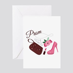 High School Prom Greeting Cards