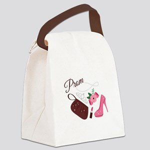 High School Prom Canvas Lunch Bag