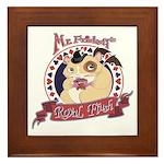 Mr. Friskett's Royal Flush Framed Tile