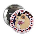 """Mr. Friskett's Royal Flush 2.25"""" Button (10 pack)"""