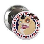 """Mr. Friskett's Royal Flush 2.25"""" Button (100 pack)"""