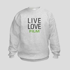Live Love Film Kids Sweatshirt