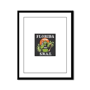 Florida S.W.A.T. Framed Panel Print
