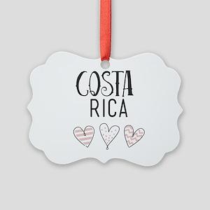 Costa Rica Picture Ornament