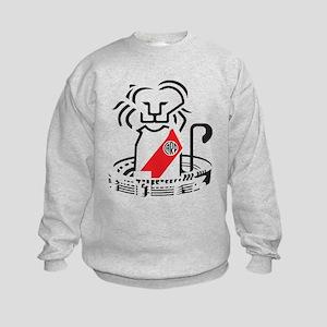 Lion River Plate Kids Sweatshirt