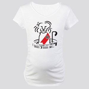 Lion River Plate Maternity T-Shirt