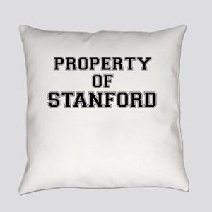 Property of STANFORD Everyday Pillow