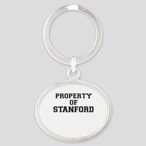 Property of STANFORD Keychains