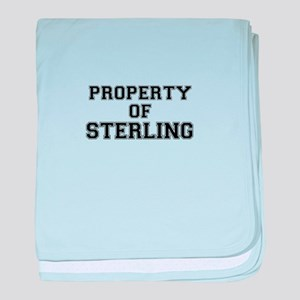 Property of STERLING baby blanket