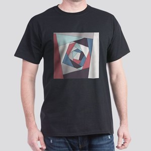 Colorful Geometric Layers T-Shirt