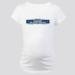 CANARY ISLANDS HOUND Maternity T-Shirt