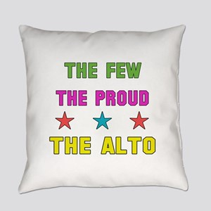 The Few, The Proud, The Alto Everyday Pillow