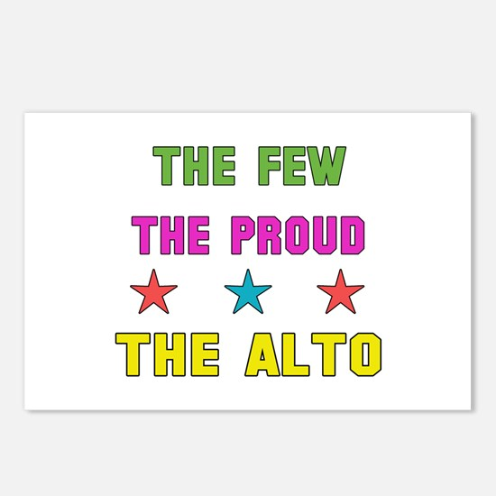 The Few, The Proud, The A Postcards (Package of 8)