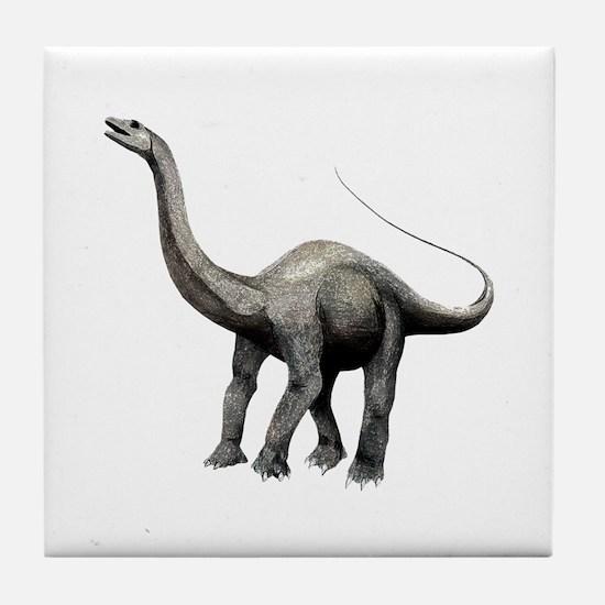 Apatosaurus Tile Coaster